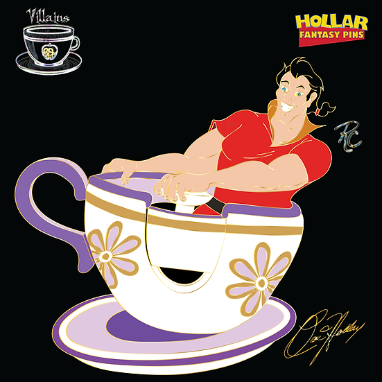 Villains In Teacups: Gaston
