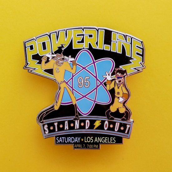 A Goofy Movie: Powerline: Stand Out Marquee Artist Proof