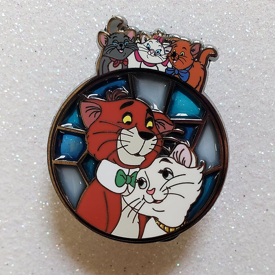 Unconditional Love Stainglass: Aristocats