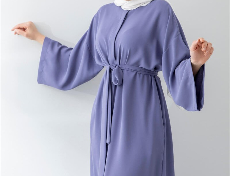 Abaya Violet