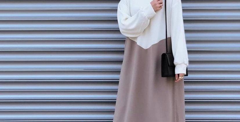 Robe Minimaliste Beige