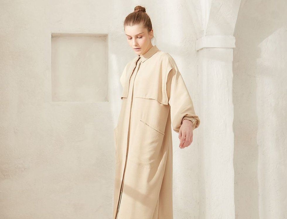 Abaya Cuba Camel