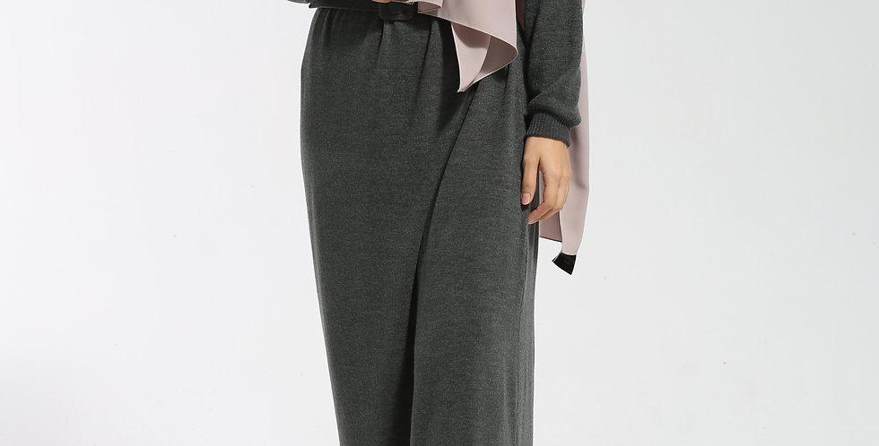 Robe Tricot Kaki