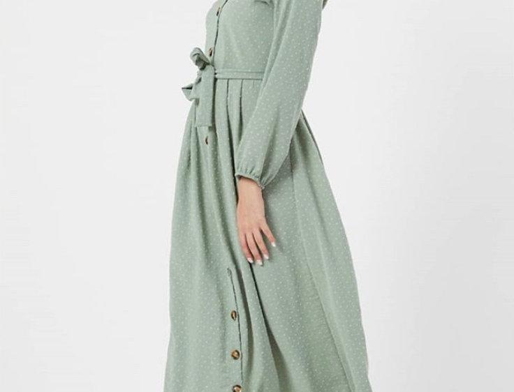 Robe Boheme Vert Eau
