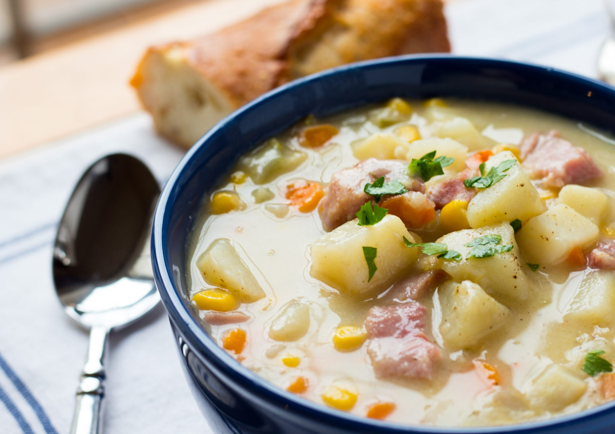 Ham & Potato chowder