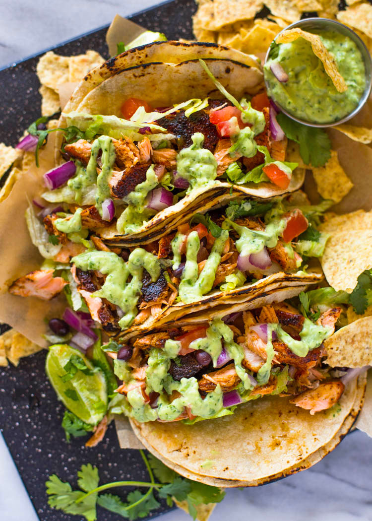 Pulled & Blackend Wingz Tacos