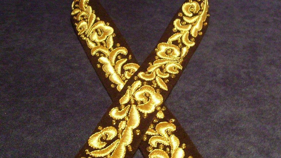 027 - Ženski remen zlatovez
