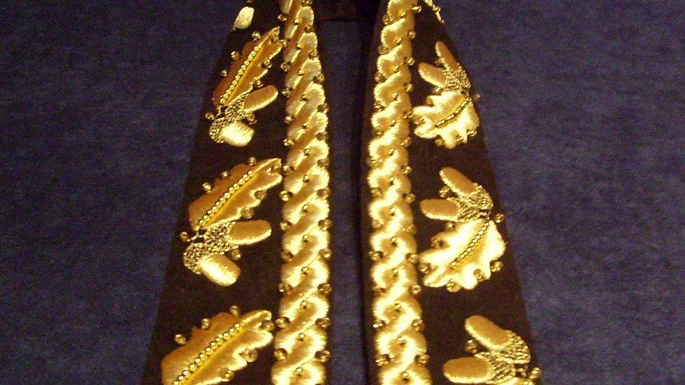 021 - Traka za šesir zlatovez