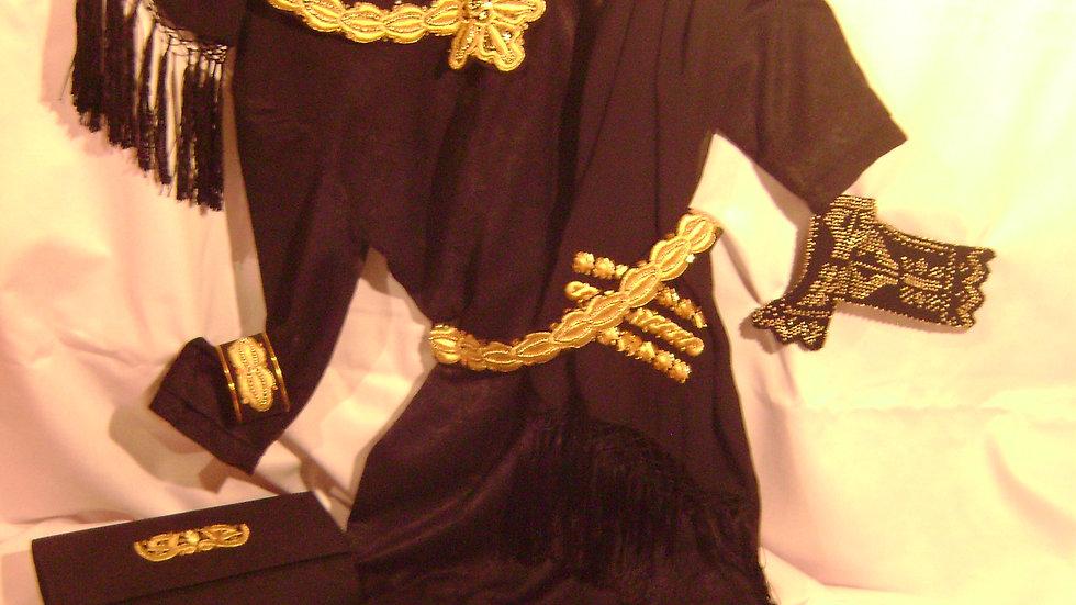 035 - Ženski odjevni predmeti i nakit zlatovez