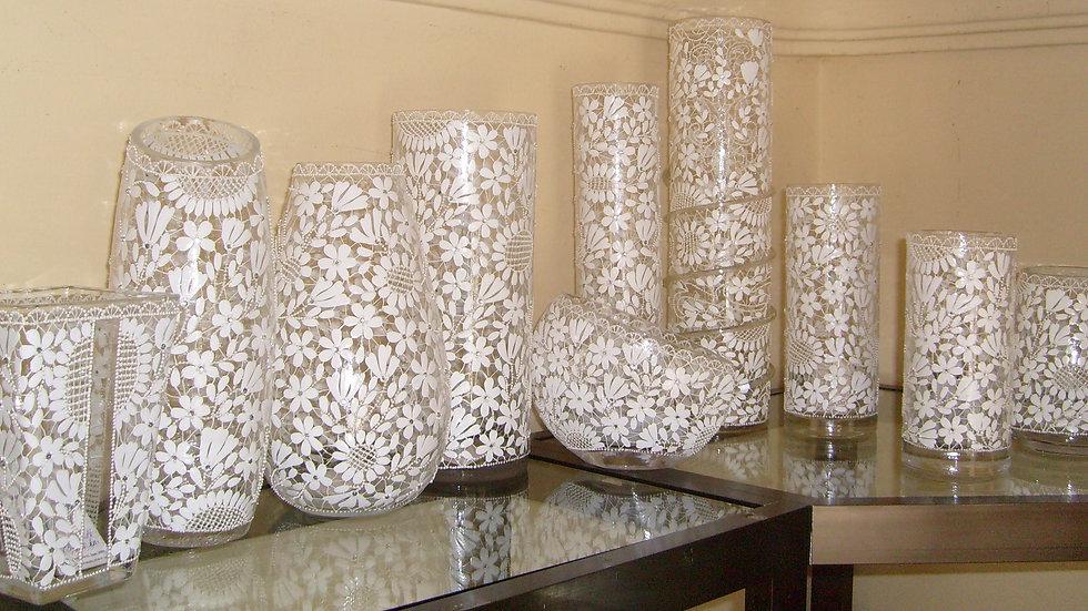 Oslikane vaze motiv šlinga