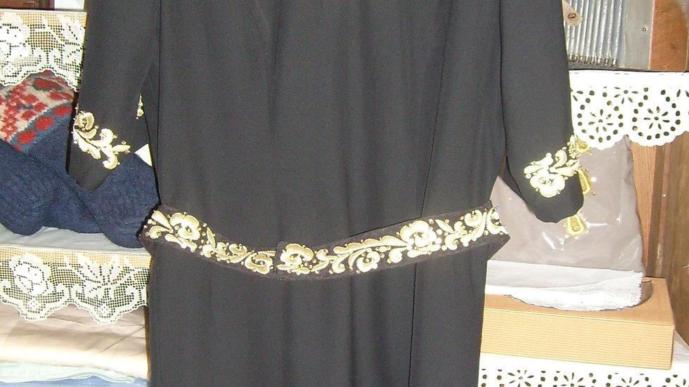 Haljina i remen zlatovez