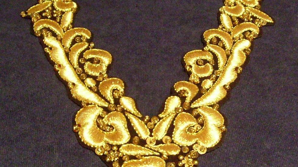 004 - Ogrlica zlatovez