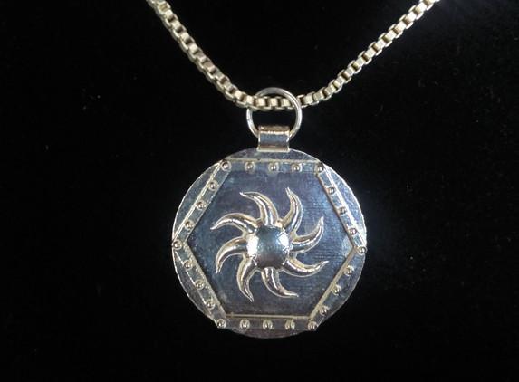 sunburst-hex-pendant-sterling-silver