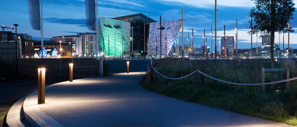 Client: Titanic Quarter Ltd & Titanic Foundation.                  Project: Titanic Walkway and Great Light.