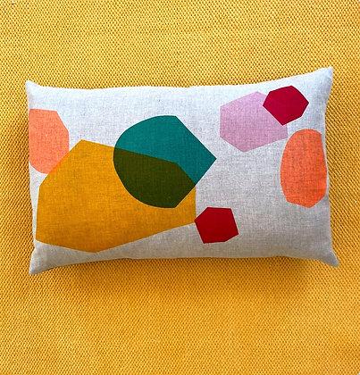 Clash - Irish Linen Cushion