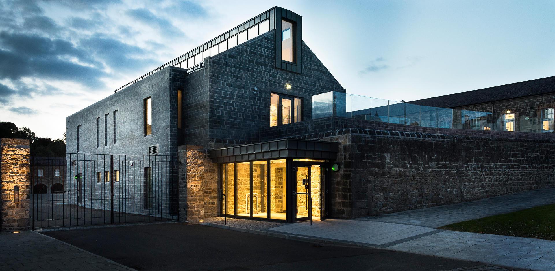 Client: Fermanagh and District Council. Project: Enniskillen Castle.