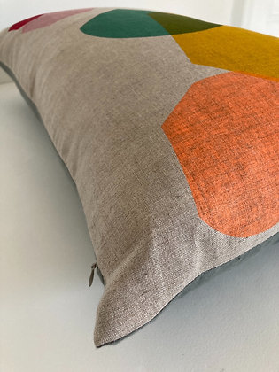 Clash - Irish Linen Cushion