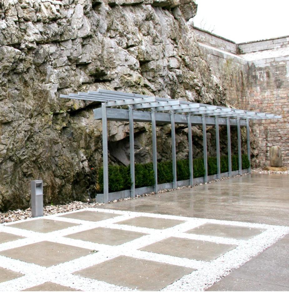 Client: Enfer Group. Project: Rocky Island Crematorium.