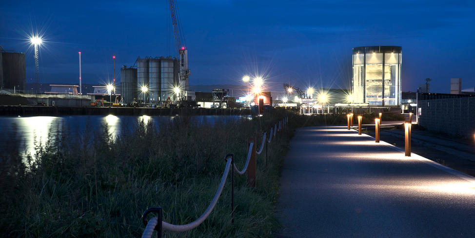 Client: Ttianic Quarter Ltd & Titanic Foundation. Project: Titanic Walkway and Great Light.