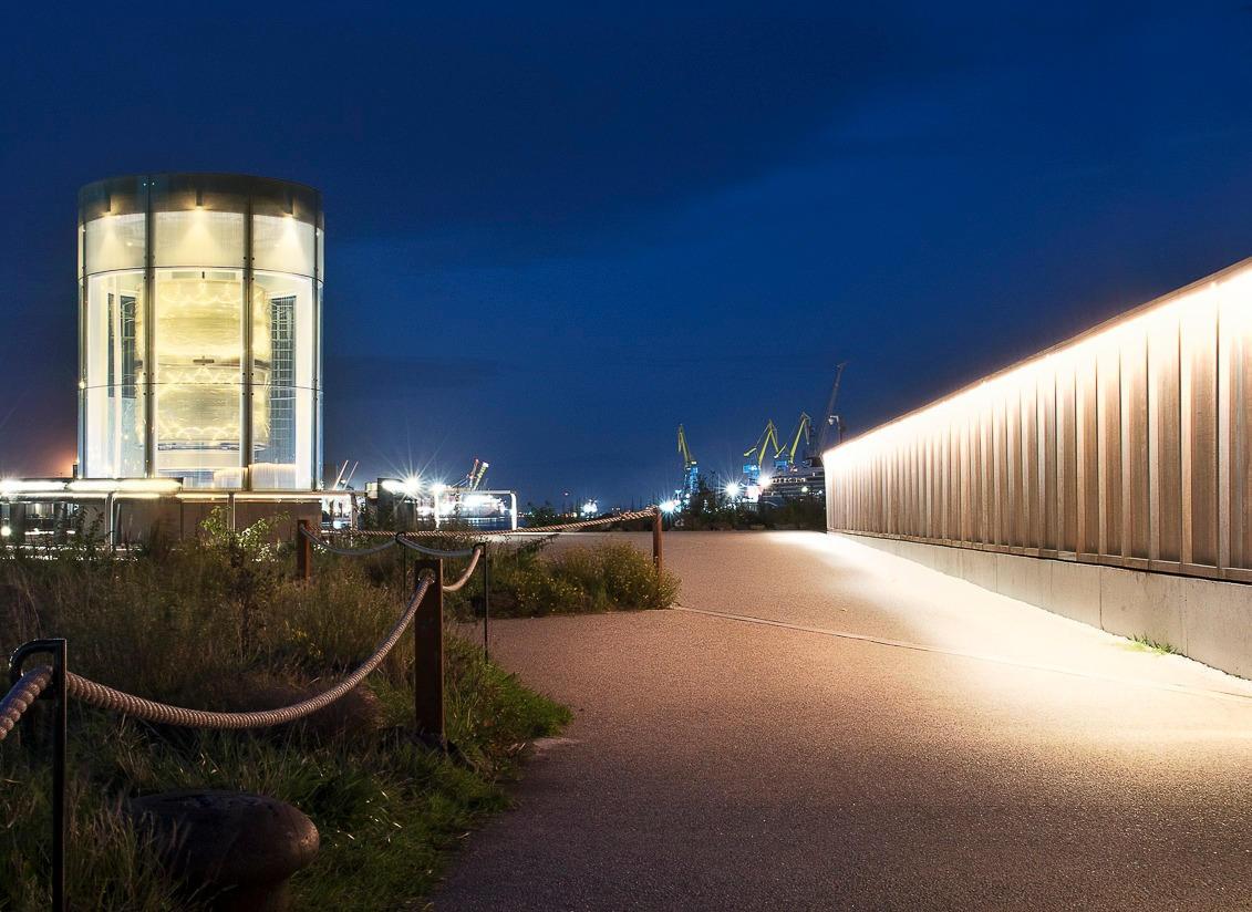 Client: Titanic Quarter Ltd & Titanic Walkway and Great Light.