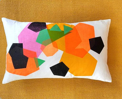 Gathering - Irish Linen Cushion
