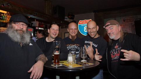Woodrage & Nitrogods in Joe´s Garage - 03.11.17 (Review)