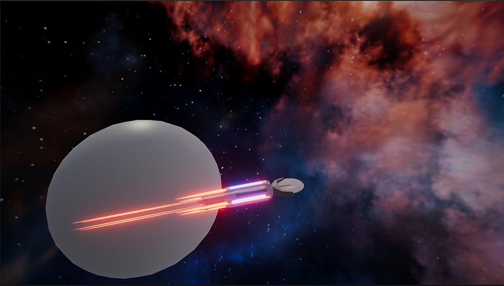 During Player Starship Movement Developm