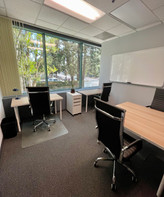 Office 9 in Hollywood, corner of Barham and Forest Lawn