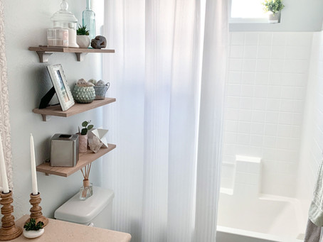 Budget & Time Friendly Builder-Grade Bathroom Updates