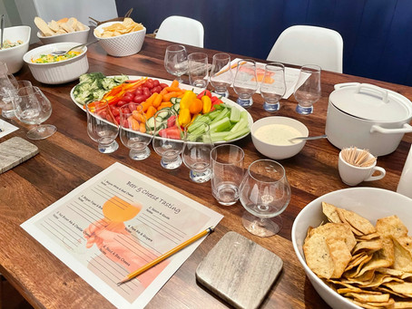 At-Home Beer and Cheese Tasting