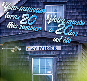 20e anniversaire du musée ! / 20th anniversary of the museum