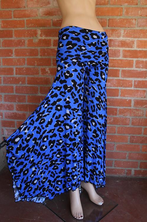 Blue Leopard {Jungle Flow Pant}