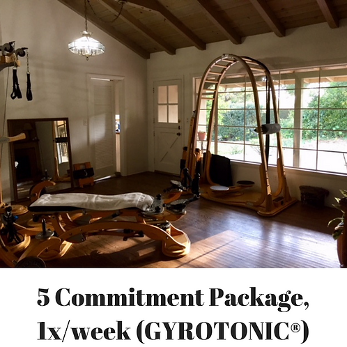 Gryotonic 5 Commit Pkg (Private, 1x wk)