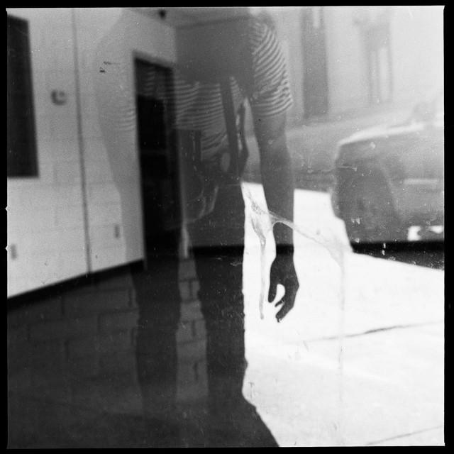 self-portrait (empty storefront)
