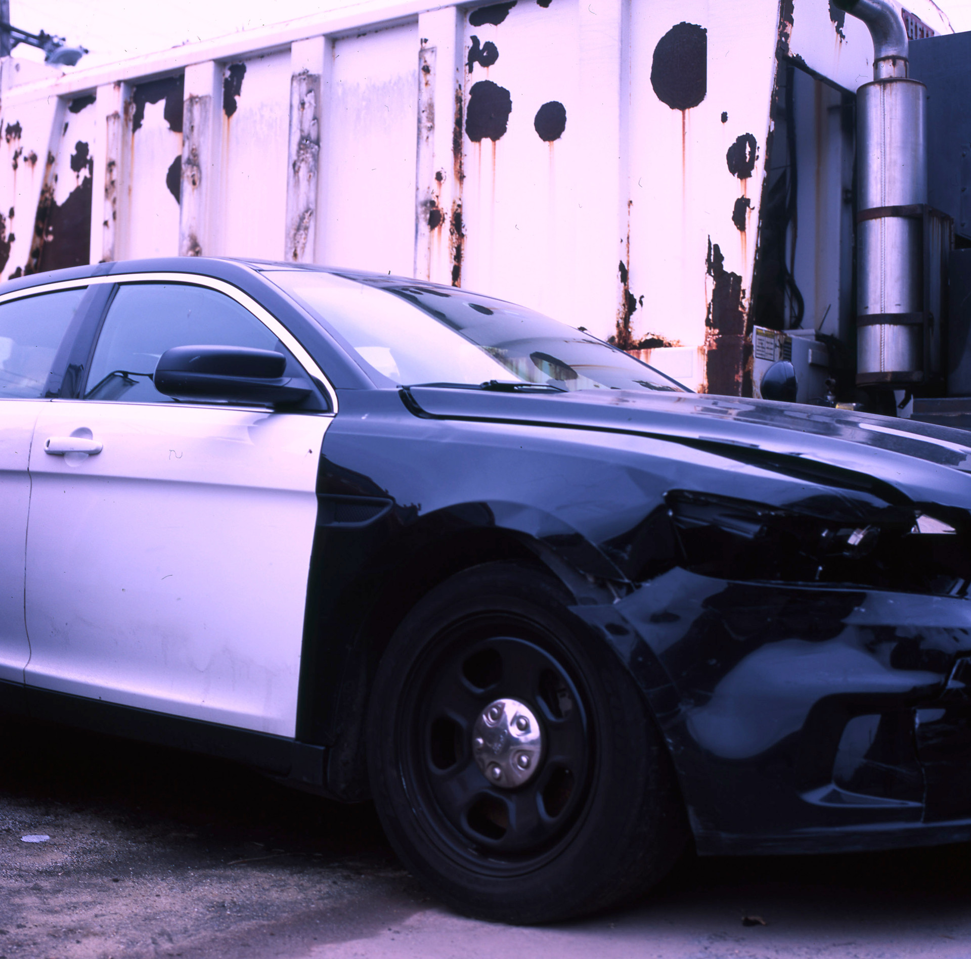 cop car