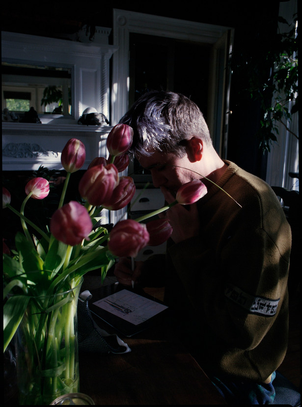 cody and tulips