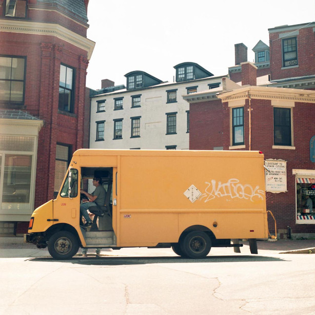 local delivery truck