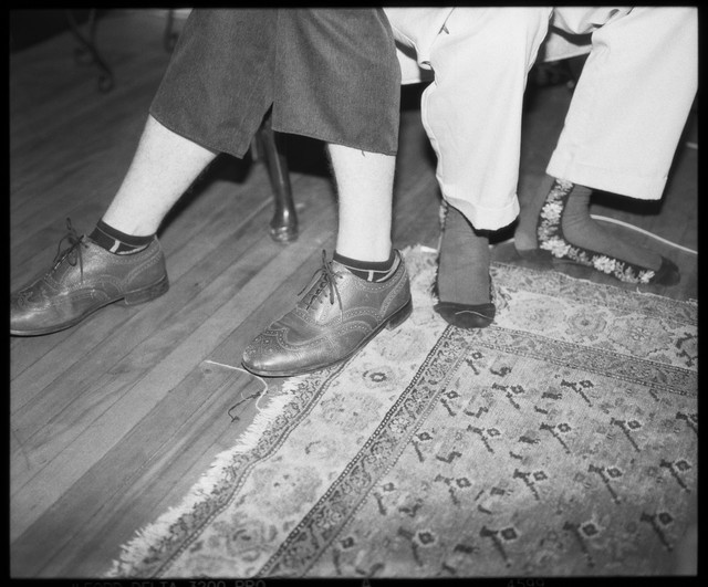 thomas and gaucho's feet