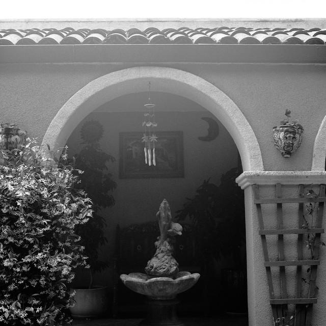 family courtyard