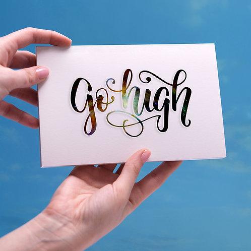(10) Go High Postcards
