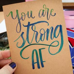 StrongAF Card