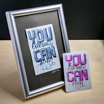 You literally can even!