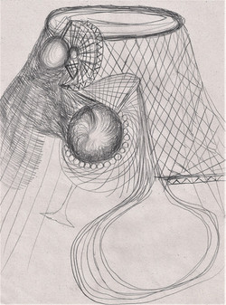 Untitled #3, pencil on paper, cm 28,3x21