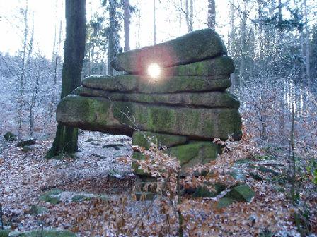 Totenstein Königshainer Berge