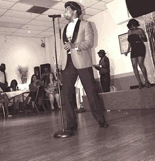 Dedrick Weathersby as James Brown