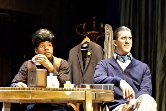James Brown played by Dedrick Weathersby