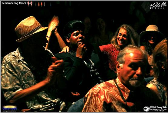 Dedrick Weathersby as James Brown in Rem