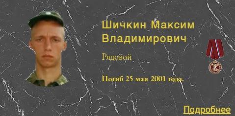 Шичкин М.В.
