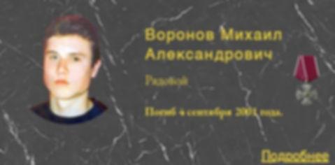 Воронов М.А.