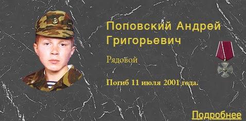 Поповский А.Г.